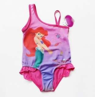 NWT Girl Baby Ariel Swimsuit Swimwear 2 8Y Bikini Tankini Swimming