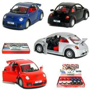 12 pcs in Box 5 New Volkswagen Beetle RSi 132 Scale