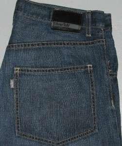 mens Levis jeans SilverTab Baggy Blue Denim 32 x 34 TaLL