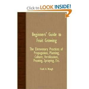 Beginners Guide To Fruit Growing   The Elementary Practices Of