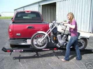 Heavy Duty Cruiser hauler motorcycle carrier trailer