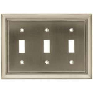 64174 Architectural Triple Switch Wall plate