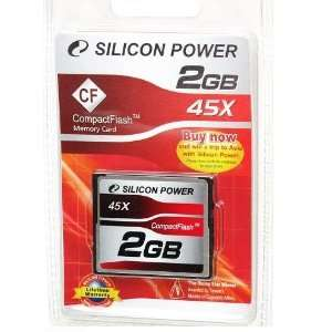 2GB Silicon Power Compact Flash CF Memory Card 45X