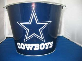 Metal Beer Ice Bucket Cooler Cold, star,Tony Romo 842451060611