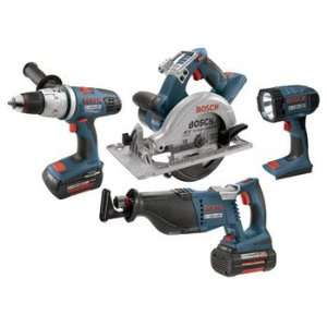 Bosch CPK41 36 RT 36 Volt Cordless Litheon 4 Tool Combo Kit Home