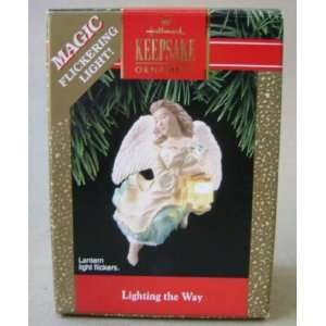 Keepsake Lighting the Way Angel Magic Flickering Light Christmas Tree