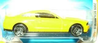 2010 FORD MUSTANG GT DIECAST 2009 HOT WHEELS LQQK
