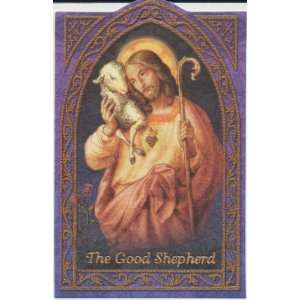 The Good Shepherd Holy Prayer Card