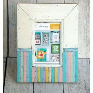 Recycled Wood Pastels Picture Frame