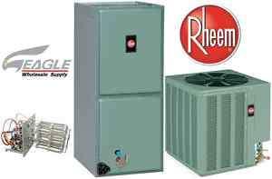 Ton Rheem 13 SEER Air Conditioner Split System R410