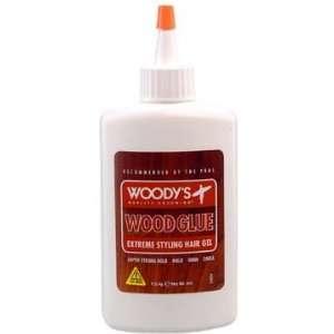 Woodys Wood Glue Extreme Styling Hair Gel   4 oz Beauty