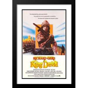 King David 20x26 Framed and Double Matted Movie Poster
