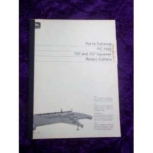 John Deere 727/737 Gyramor Rotary Cutter OEM Parts Catalog: John Deere