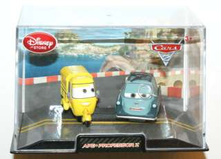 Pixar CARS 2 PROFESSOR Z & APE DIE CAST IN COLLECTORS