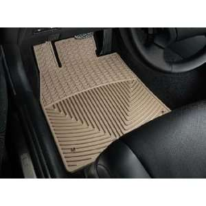 Tan WeatherTech Floor Mat (Full Set) [Rear Wheel Drive; Not L Model