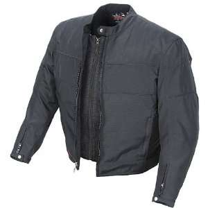 POWER TRIP JET BLACK II TEXTILE JACKET BLACK 5XL