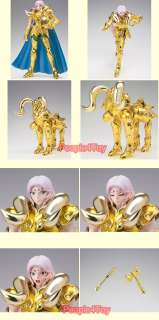 Bandai Saint Seiya EX Myth CLOTH GOLD ARIES MU figure