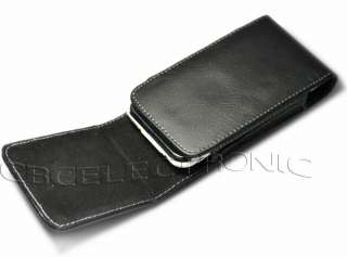 vertical belt clip on leather case holster for iphone 3g 3gs 4g 4S