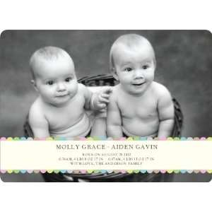 Tiny Prints for Tiny Babies   Baby Birth Announcements