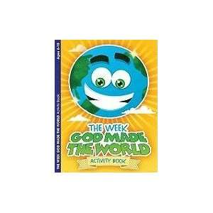 The Week God Made the World Activity Book 9781593174118