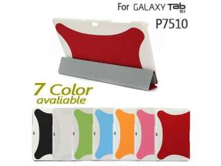 Leather Smart Cover Slim Case Stand For Samsung Galaxy Tab 10.1 P7510