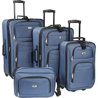Leisure Luggage Windsor 4 Piece Exp. Luggage Set