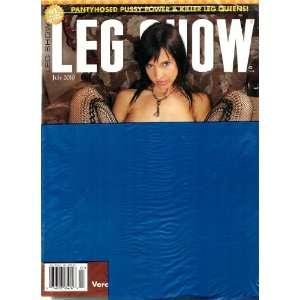 LEG SHOW MAGAZINE JULY 2010: LEG SHOW:  Books