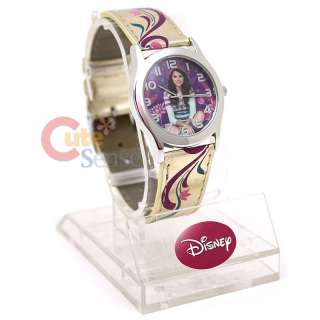 Disney Wizards of Waverly Place Selena Gomez Wrist Watch  Gold