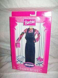 Barbie Doll Fashion Avenue Clothes Ken Skipper PJ Jeans