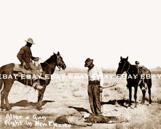 DEAD BODY CORPSE NEW MEXICO NM COWBOY AFTER GUN FIGHT OLD WEST OUTLAW