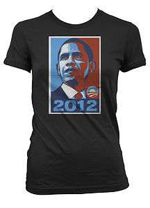 2012 Junior Girls T shirt Political Presidency Democrats Tees