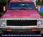 69 72 Chevy Blazer/C/K Pickup/Suburban Black Billet Grille Grill