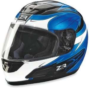 Z1R Viper Full Face Motorcycle Helmet Black/Blue Vengeance