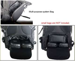 Backpack Multi purpose system Bag   Waterproof cover included.
