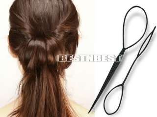 2pcs Topsy Tail Hair Braid Ponytail Styling braid Maker