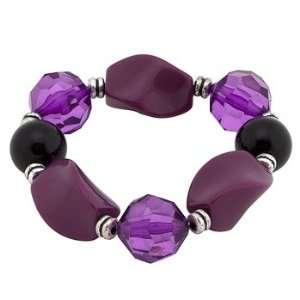 Days of Our Lives ~ Nicole DiMera ~ Purple Stone Bracelet