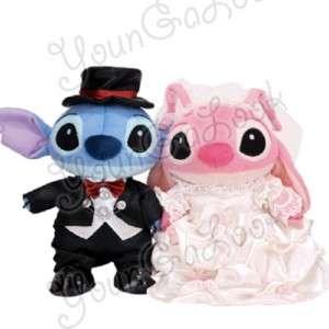 2p Disney Stitch Angel Wedding Dress Soft Plush Toy 10