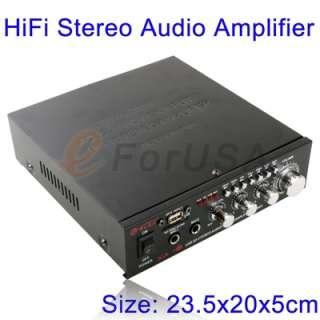 New 20W Hi Fi Stereo Audio Power Speaker Amp Amplifier (AK 601) fit