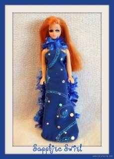 FASHION Gown + Scarf 4 DAWN DOLL & PIPPA & MINI KINGDOM BARBIE Custom
