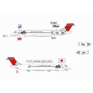 Jet X JAL MD 87 Model Airplane