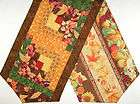Log Cabin Patchwork PRE CUT Table Runner Kit 45 inch FALL COLORS