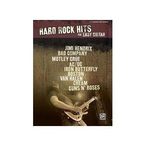Hard Rock Hits for Easy Guitar Musical Instruments