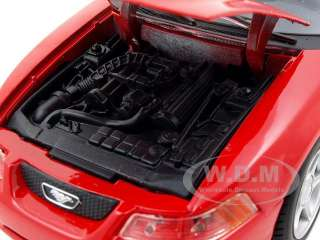 car model of 1999 Ford Mustang SVT Cobra die cast car by Maisto