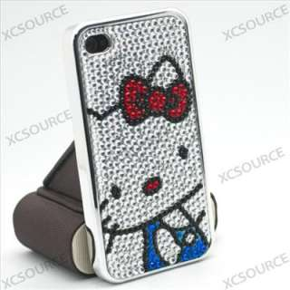 lovely HelloKitty Hard Crystal Case for Apple iPhone 4G 4S PC148