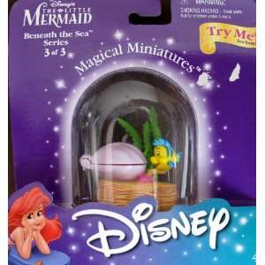 Disney LITTLE MERMAID Magical Miniatures FLOUNDER