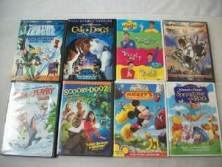 Kid DVD Movies BARBIE, DORA THE EXPLORER, SCOOBY DOO AND MORE