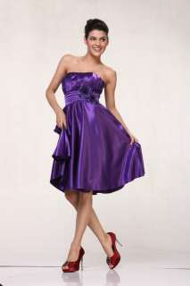 FORMAL CLASSIC PROM BRIDESMAIDS DRESSES PLUS SIZE SIMPLE WEDDING EVENT