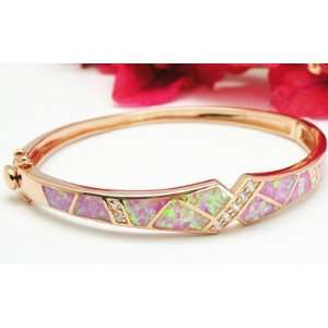 Giftubest com Jewelry Rose Gold Plated Sterling Silver