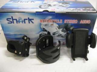 shark sturgis motorcycle audio special system 100w system+Phone and