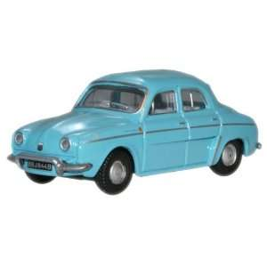 Renault Dauphine   Light Blue   1/76th Scale Oxford